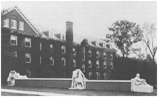 ISU's Elm Hall, where Sheila Collins lived.